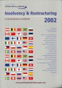Insolvensy & Restruction - cover